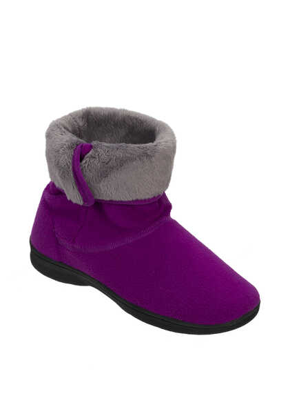 Active Fleece Boot Slipper