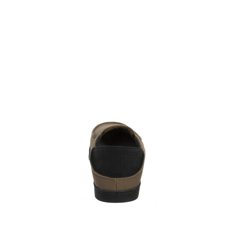 Woven Closed Back with Collapsible Heel