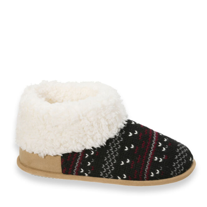 Patterned Knit Bootie