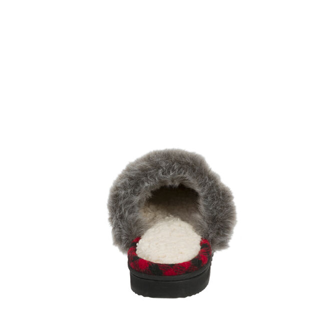 Chalet Quilted Microsuede Scuff Slipper