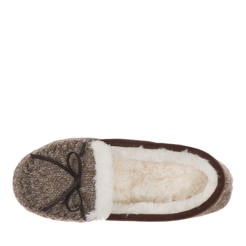 Mixed Material Moccasin