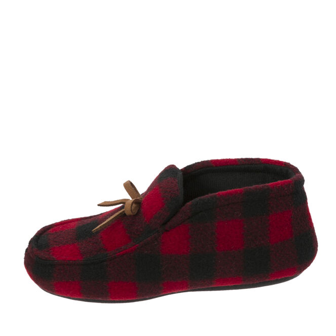 Boys Plaid Bootie with Tie