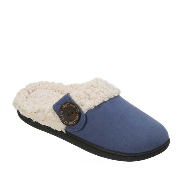 Clog with Button Tab