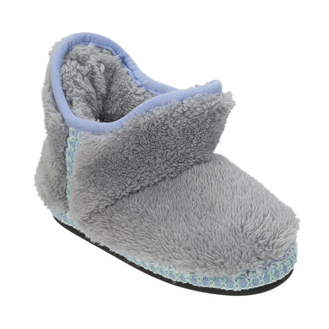Pile Bootie with Trim
