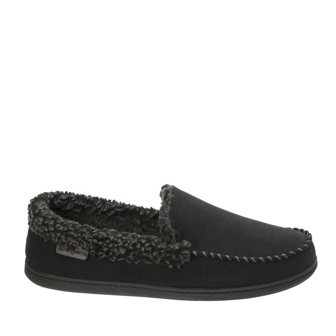 Microfiber Suede Moccasin with Whipstitch