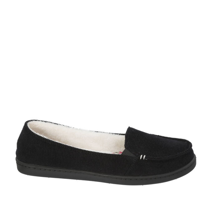 stepout by dearfoams® Mixed Material Moccasin