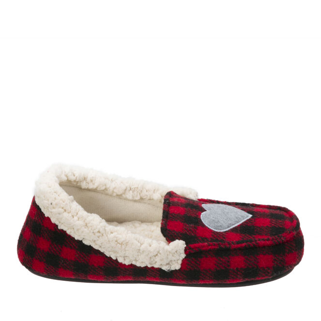 Girl's Holiday Moccasin