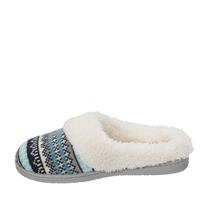 stepout by dearfoams® Microsuede Clog