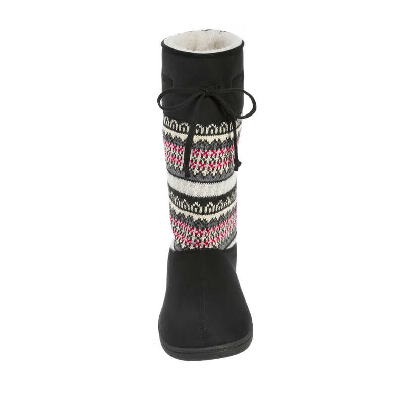 stepout by dearfoams® Mixed Material Boot