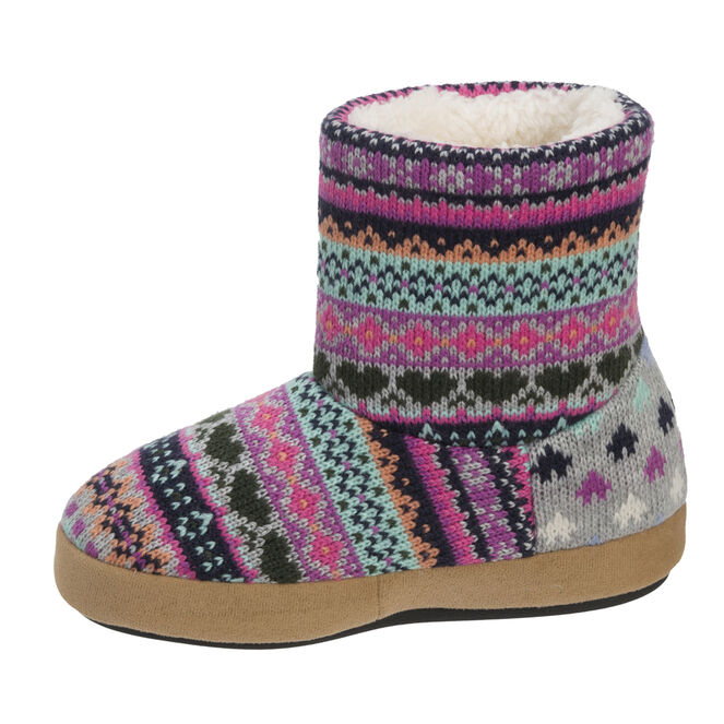 Patterned Sweater Knit Bootie
