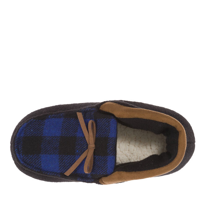 Boys Plaid Bootie