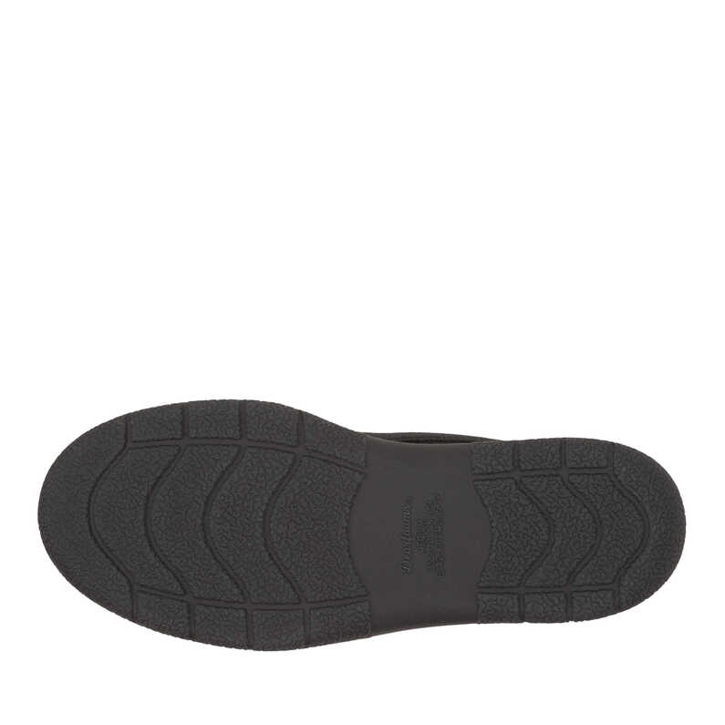 Mixed Material Moccasin with Memory Foam