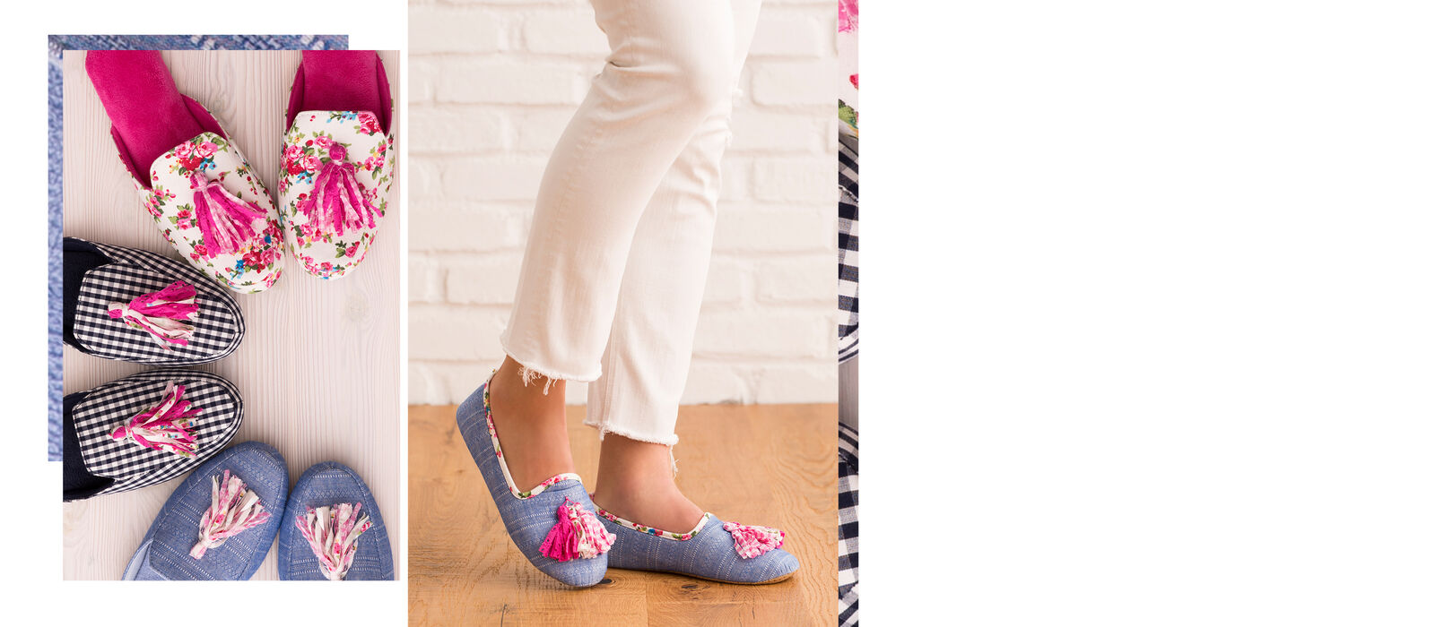 Summer slippers for women.