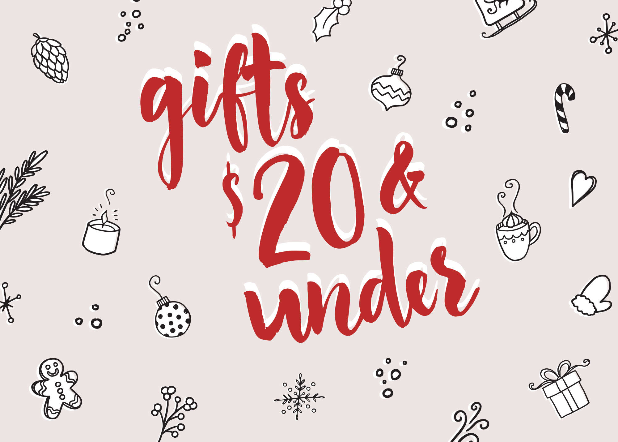 Gifts $20 and under