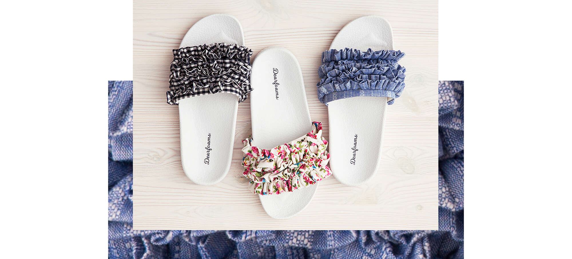 Lush Details in Slippers for Women