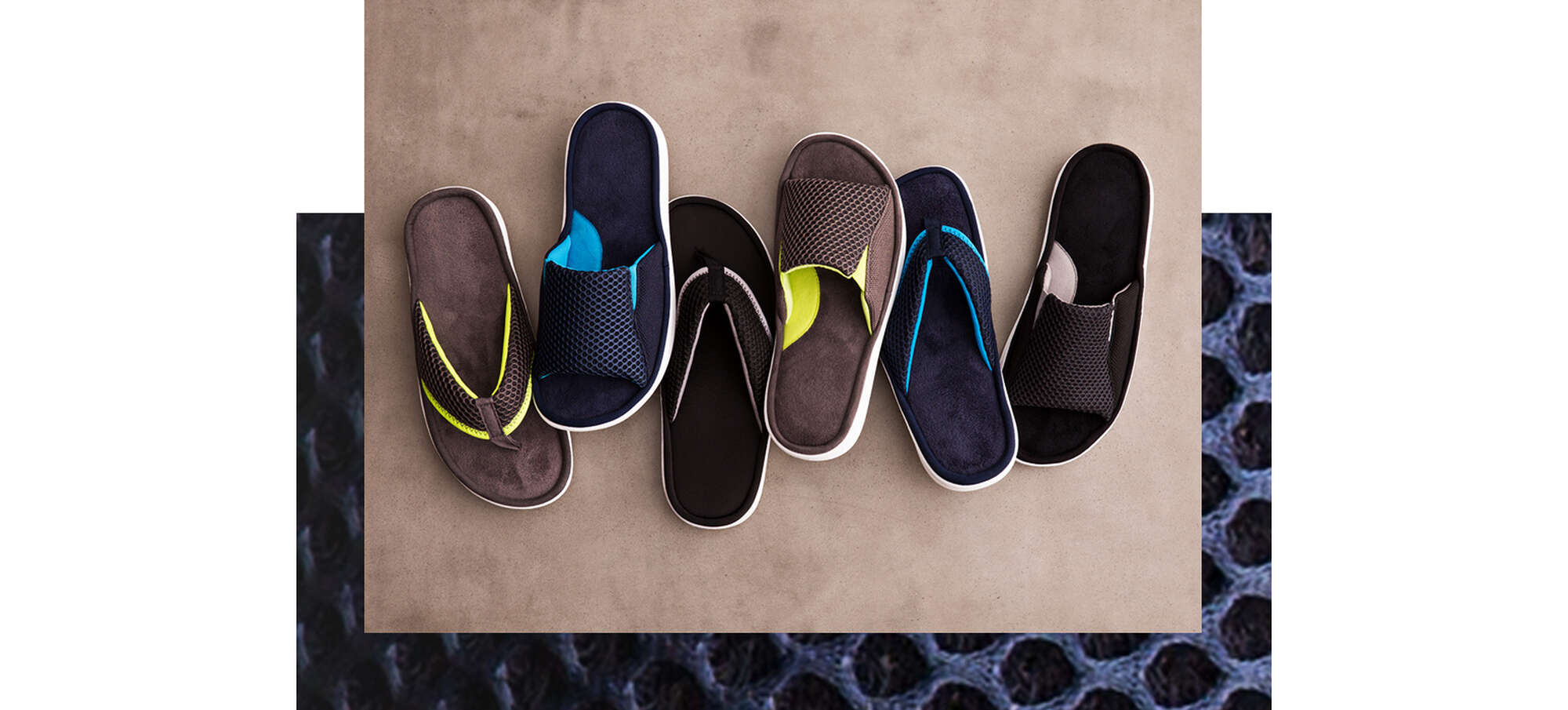 Mesh Slippers for Men