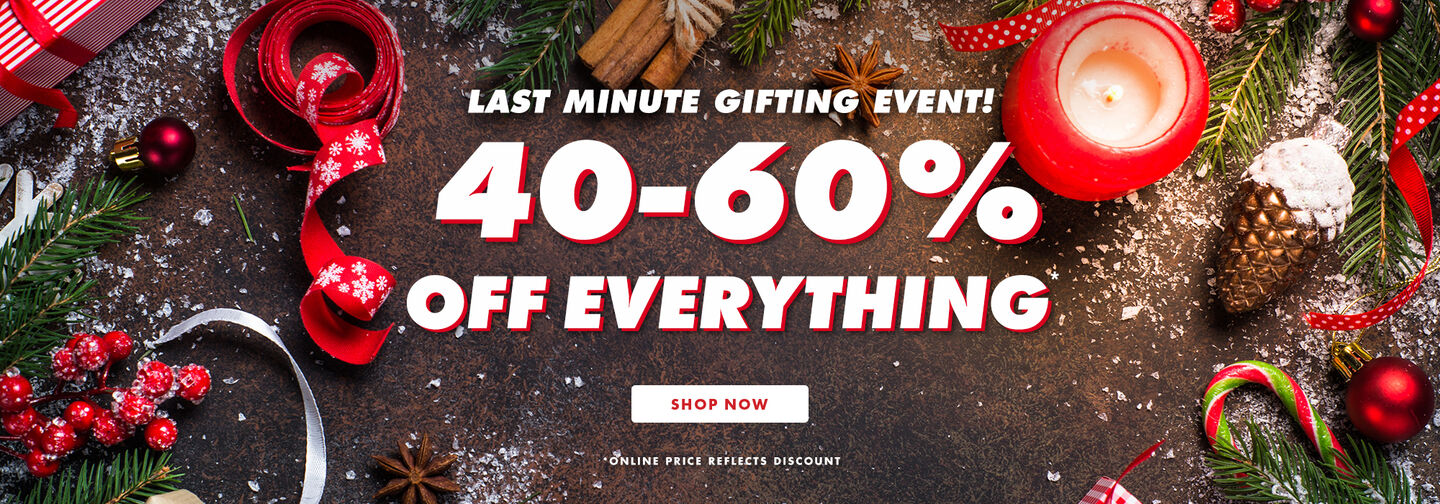 40-60 percent off everything