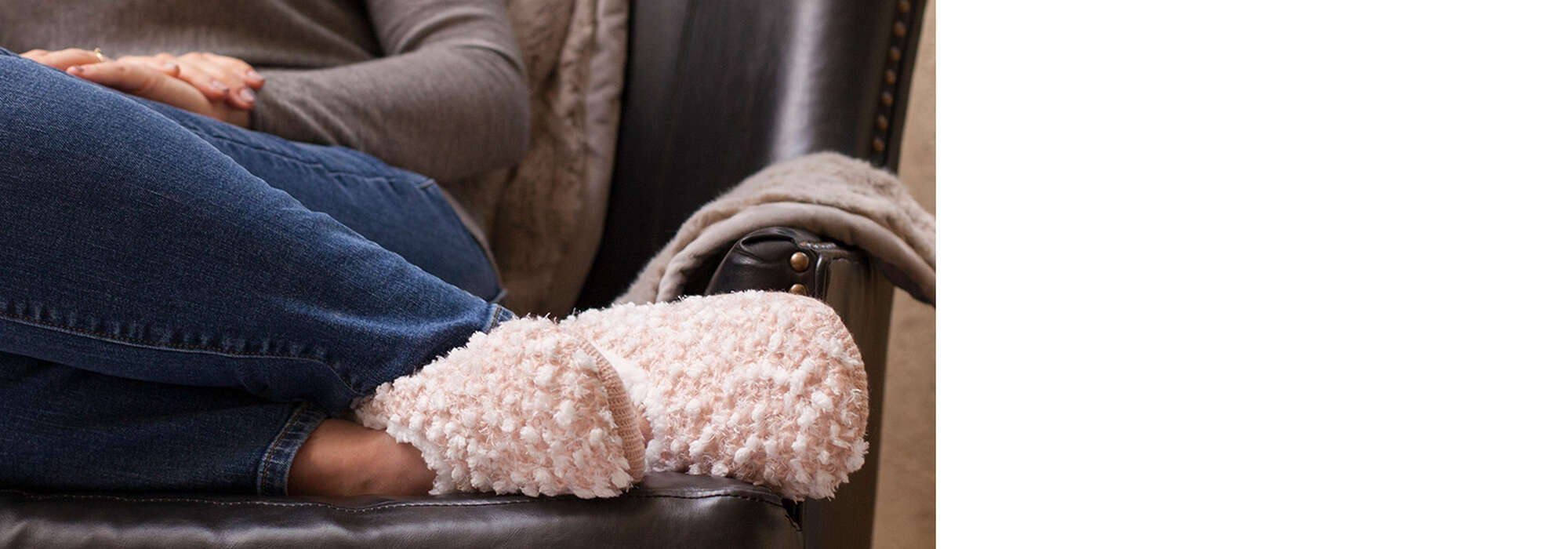 Commit to comfort year-round - our latest slipper socks are the perfect way to relax no matter the weather!