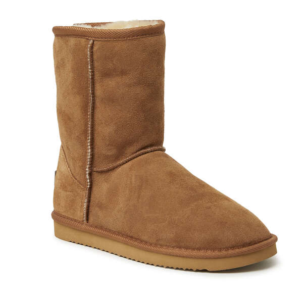 Women's Short Genuine Shearling Boot