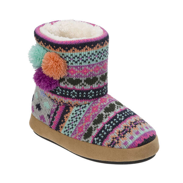 Kids Patterened Sweater Knit Bootie