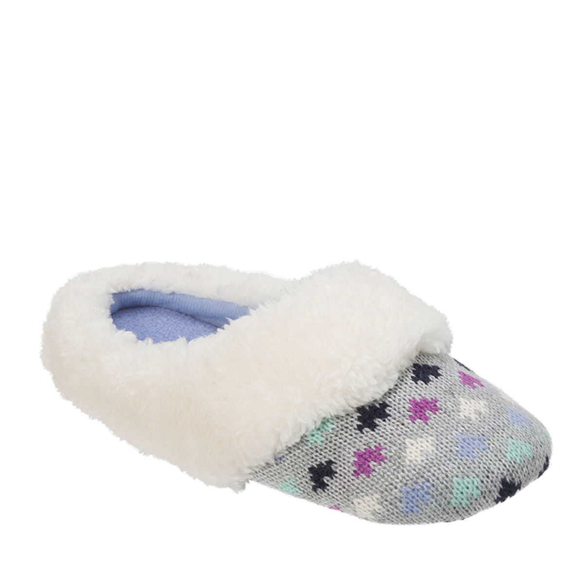 Kids Patterned Knit Clog