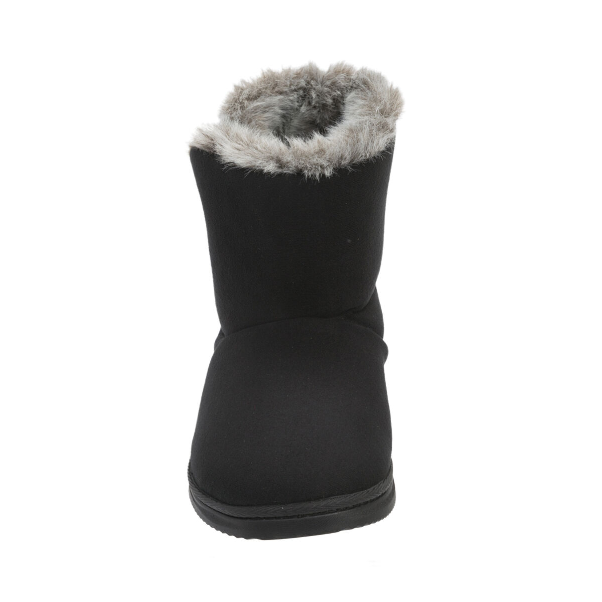 Chalet Microsuede Boot Slipper with Buttons
