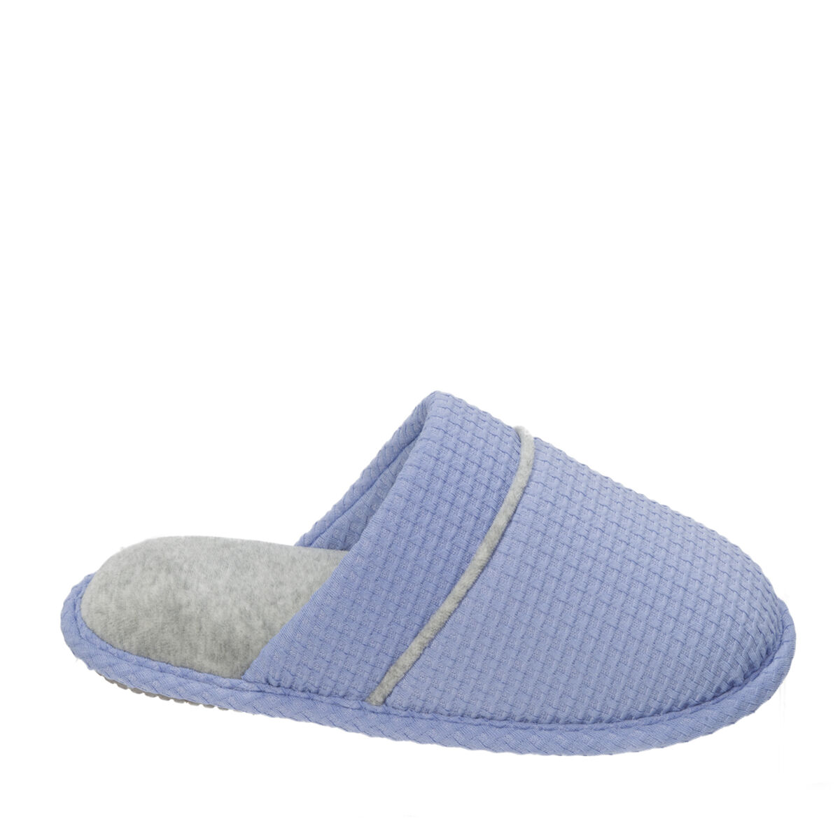 Women's Textured Knit Closed Toe Scuff
