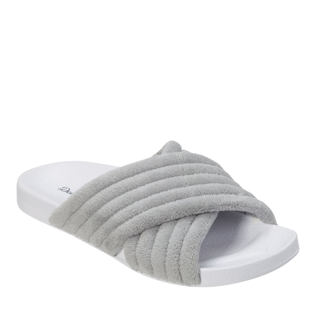 Women's Crossband Molded Footbed Slide