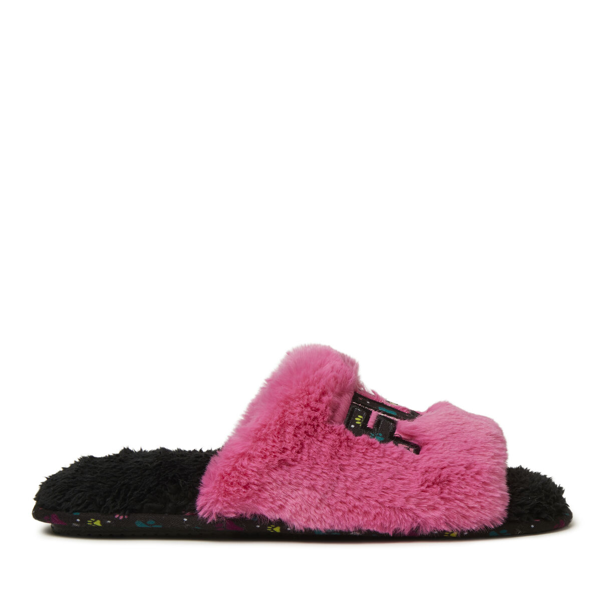Women's Fur Mama Slide with Detachable Dog Toy