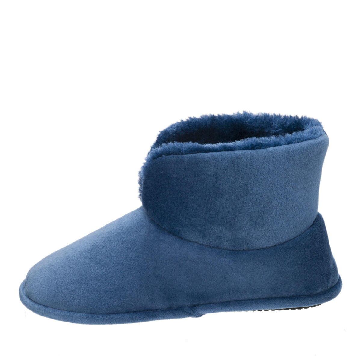 Women's Velour Bootie Slipper