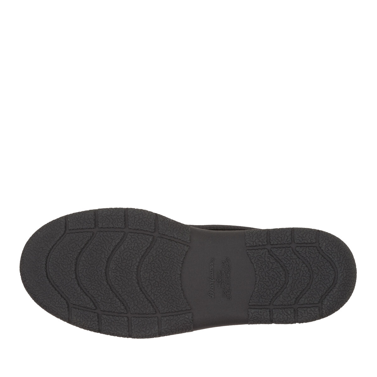 Men's Mixed Material Moccasin with Memory Foam