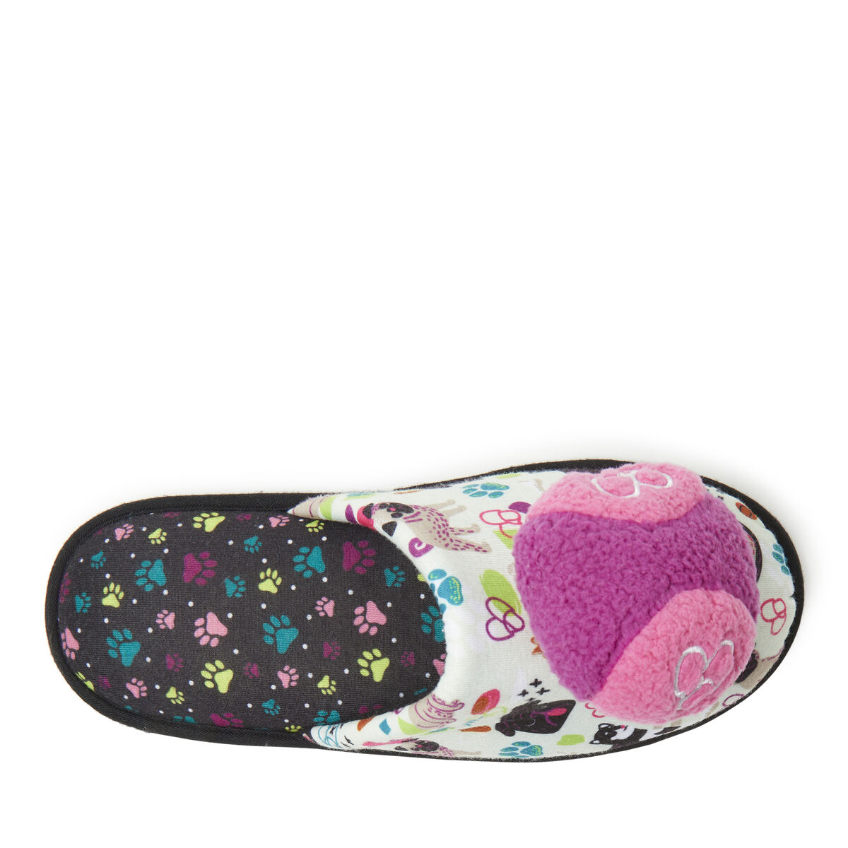 Women's Fetch Scuff with Detachable Dog Toy