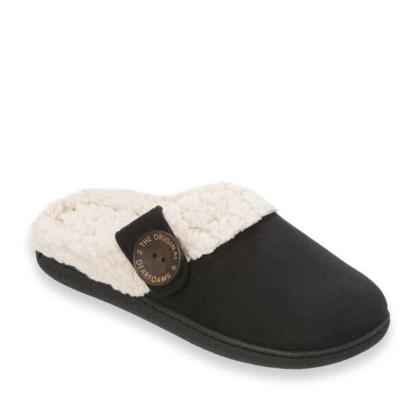 Women's Clog with Button Tab