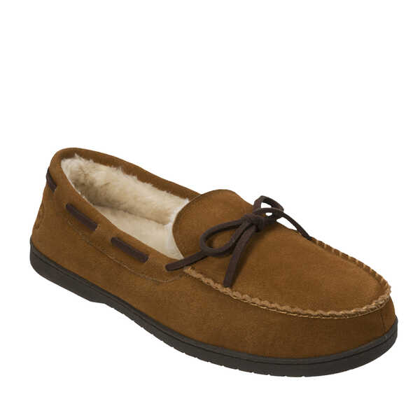 Genuine Suede Moccasin