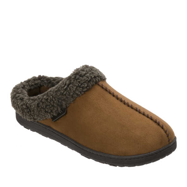 a884af97b762 Men s Wide Width Microsuede Clog with Whipstitch