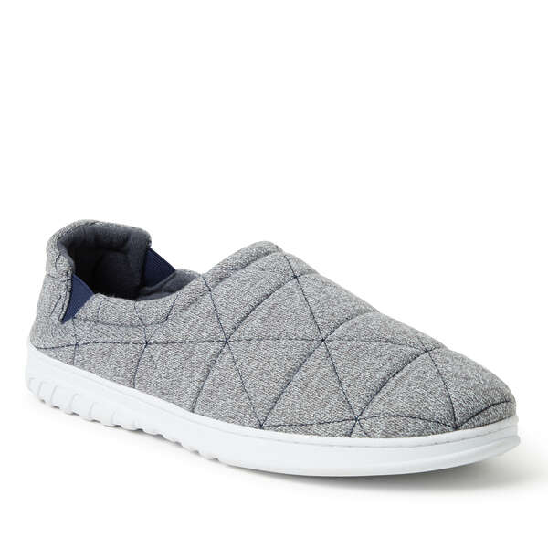 Men's Heathered Knit Closed Back