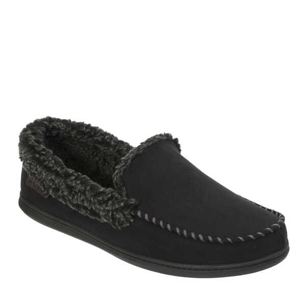 Men's Microsuede Moc with Whipstitch and Mem Foam