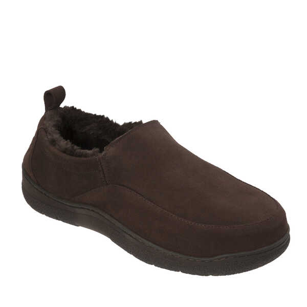 Men's Genuine Suede Double Gore Closed Back