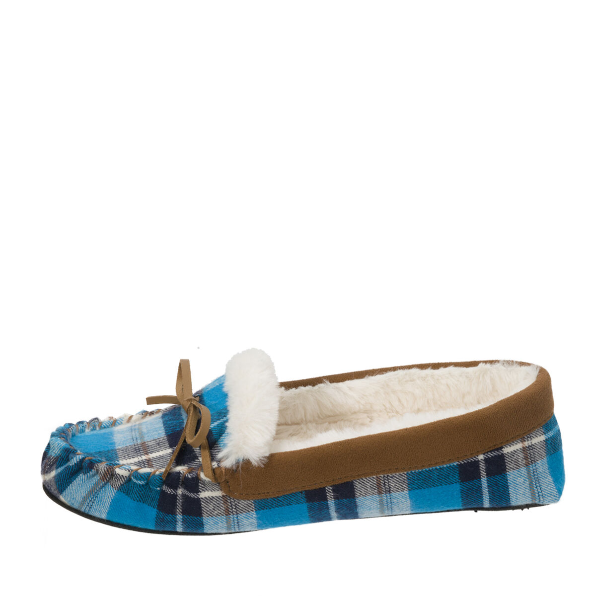 Women's Mixed Material Moccasin