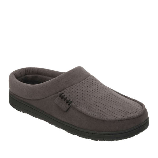 Men's Wide Width Perforated Moc Toe Clog