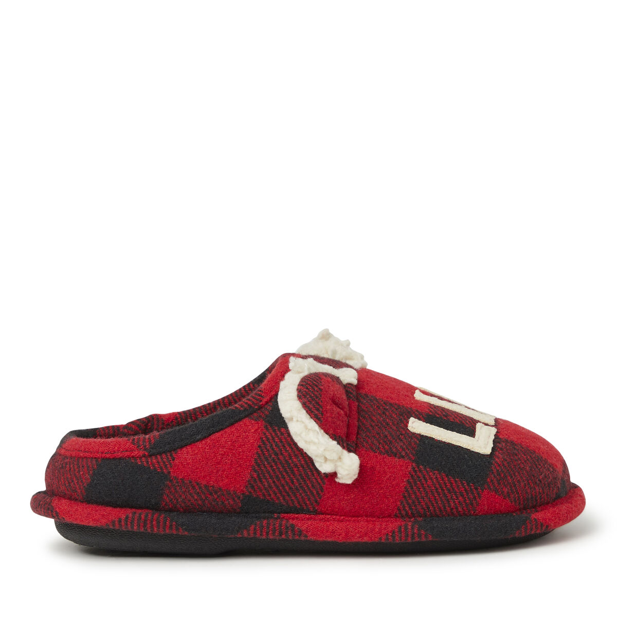 Kids Lil' Bear Buffalo Check Clog Slipper