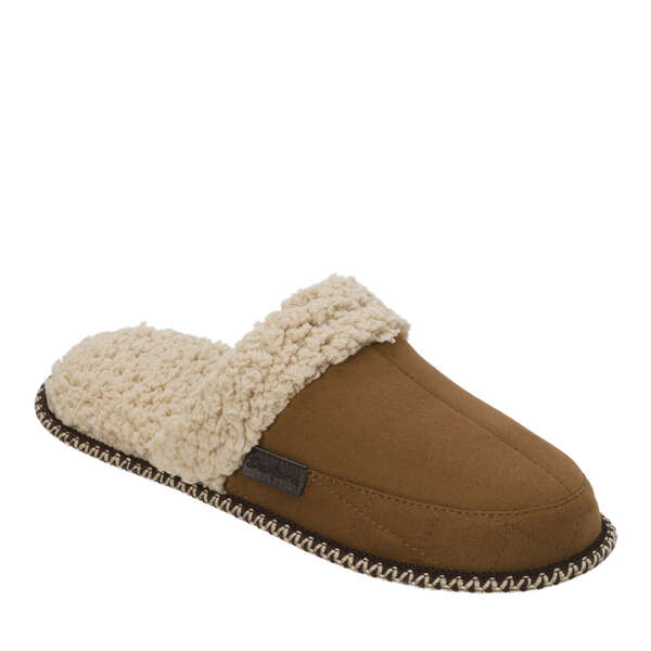 Men's Microsuede Scuff with Quilting