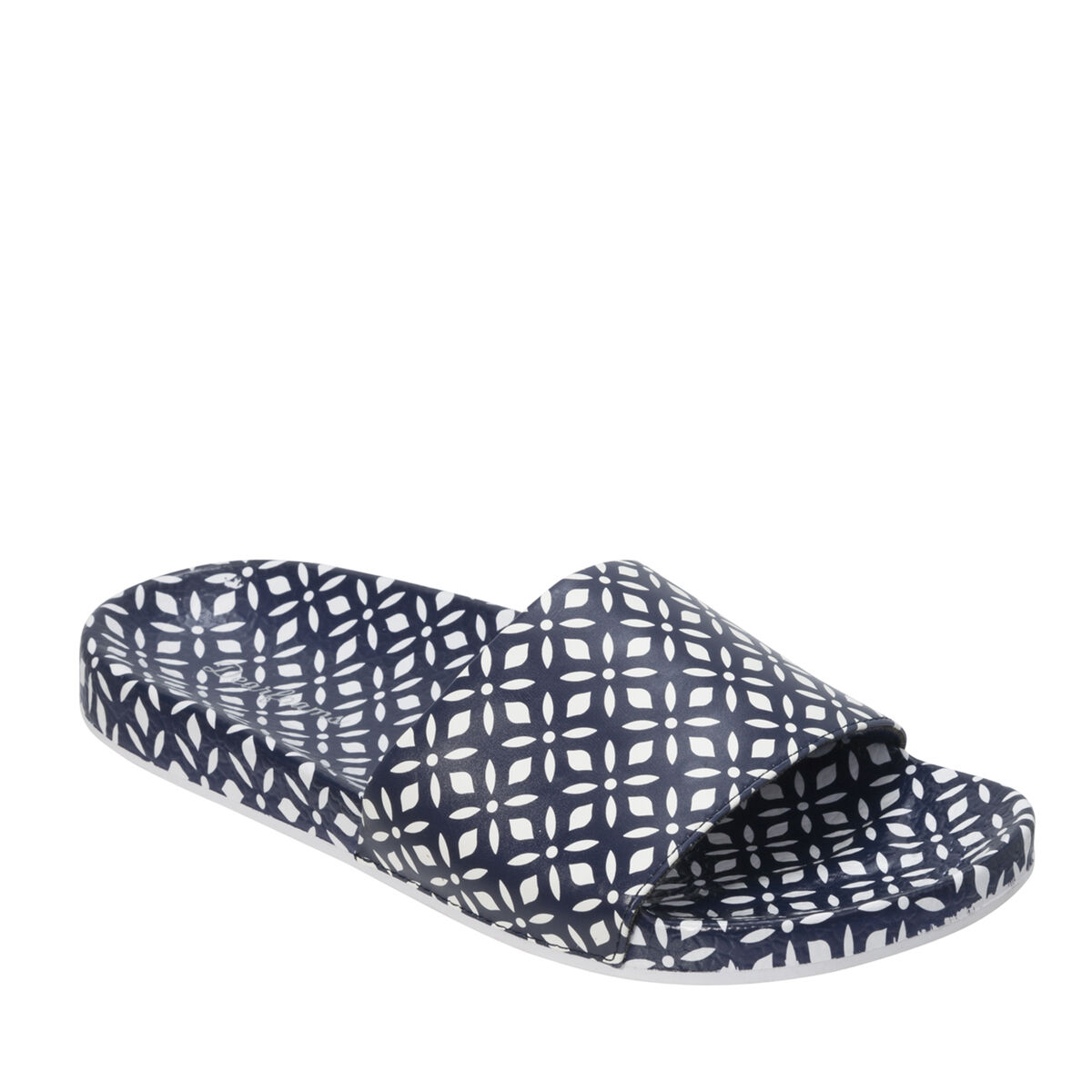 Women's Printed Molded Footbed Slide
