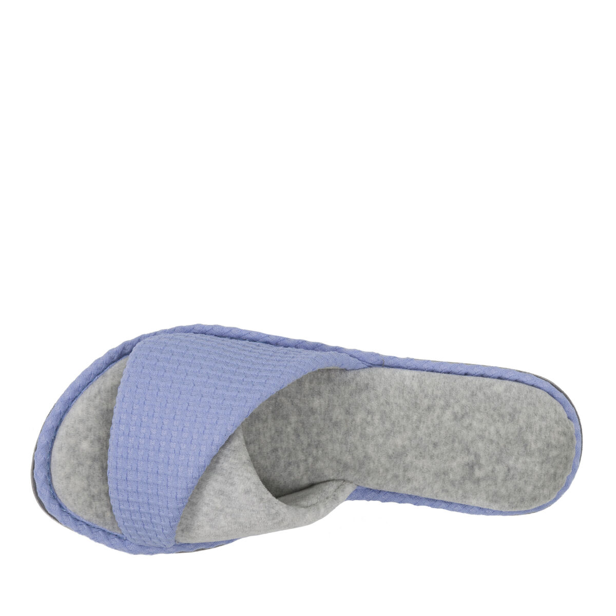 Women's Textured Knit Twist Vamp Slide