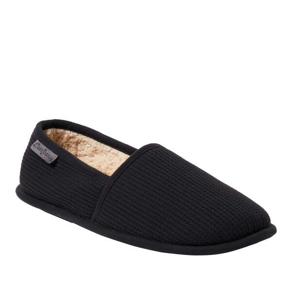Men's Faux Sherling Lined Thermal Slipper