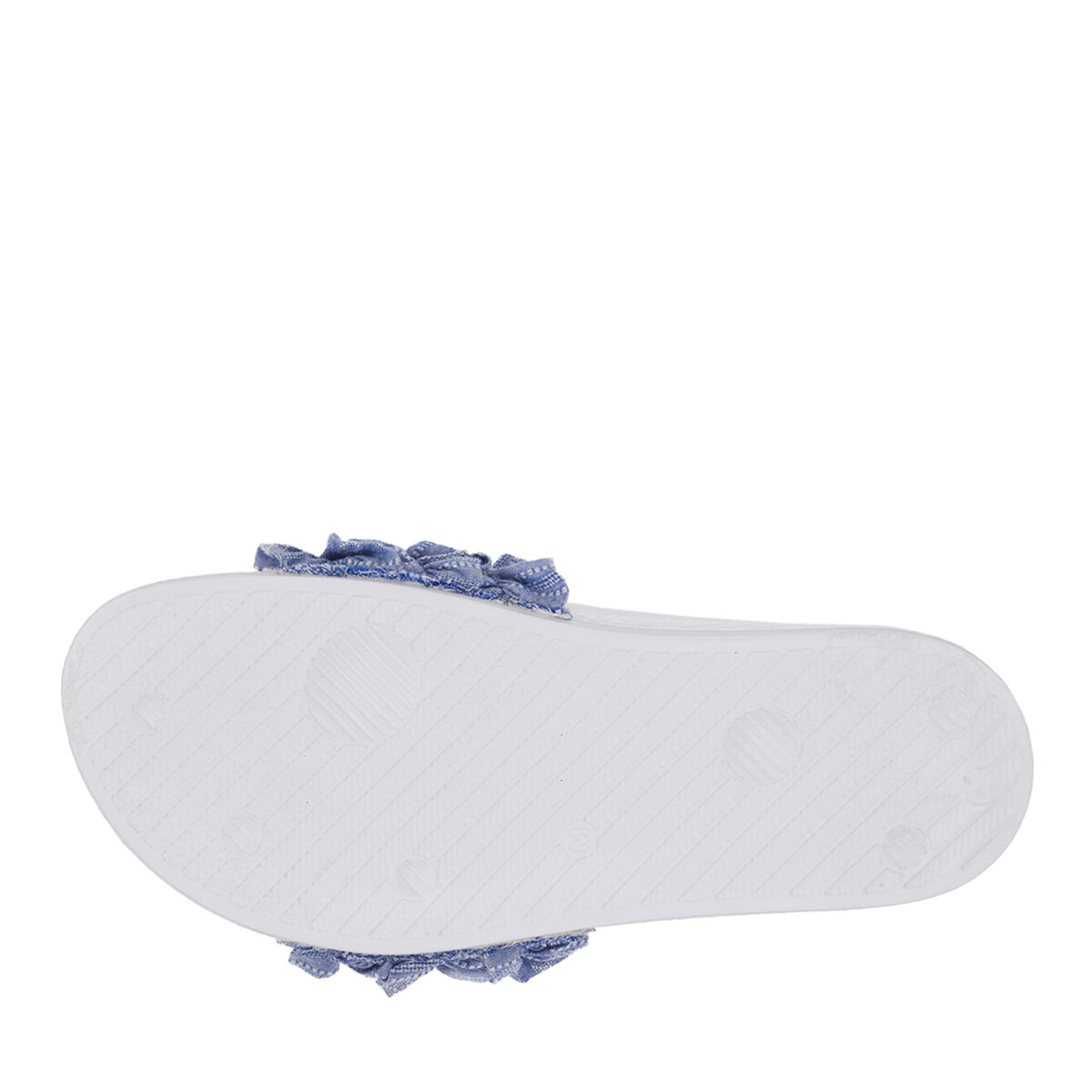 Women's Ruffle Molded Footbed Slide