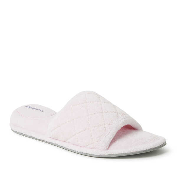 a66bc09f93e1 Women s Beatrice Microfiber Terry Slide with Quilted Vamp