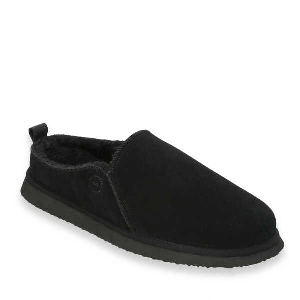 Men's Genuine Suede Coverstitch Clog