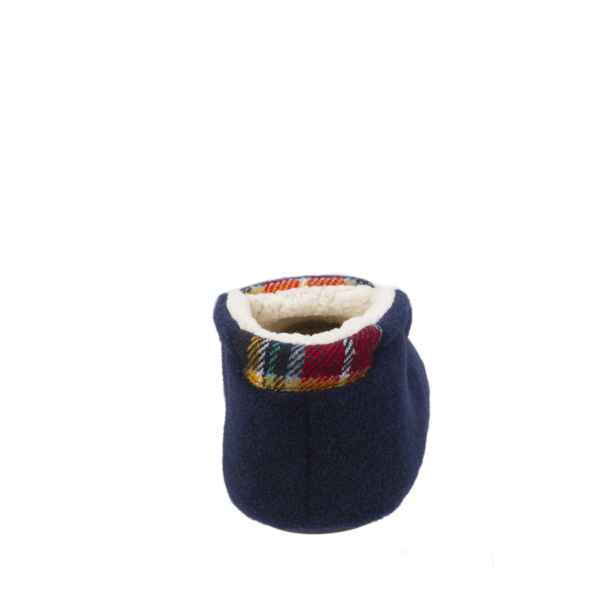 Kids Plaid Bootie with Sherpa Lining