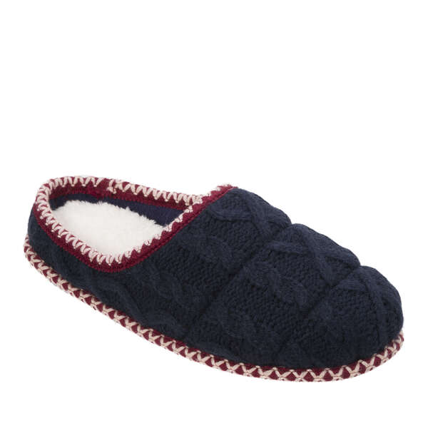 Women's Quilted Cable Knit Clog